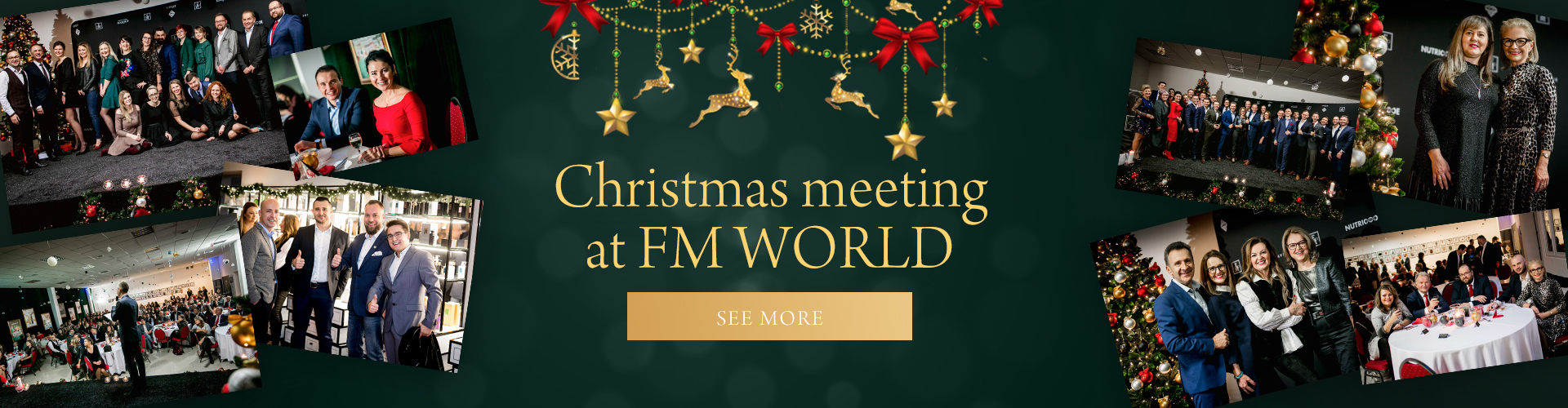 Christmas meeting at FM WORLD